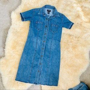 POLO jeans by Ralph Lauren denim button down dress